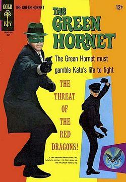 green hornet costume